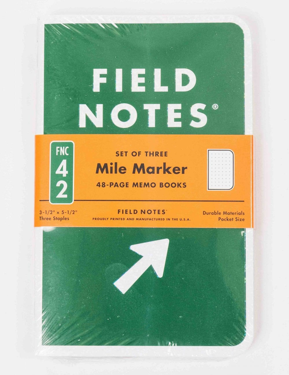 field notes mile marker notebooks  3 pack