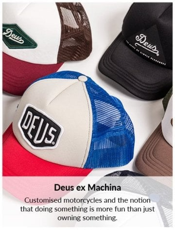 Deus Ex Machina Fall 2018