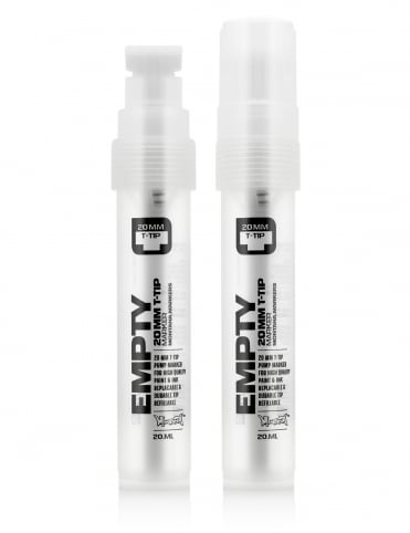 12mm T-Tip Empty Marker Pen