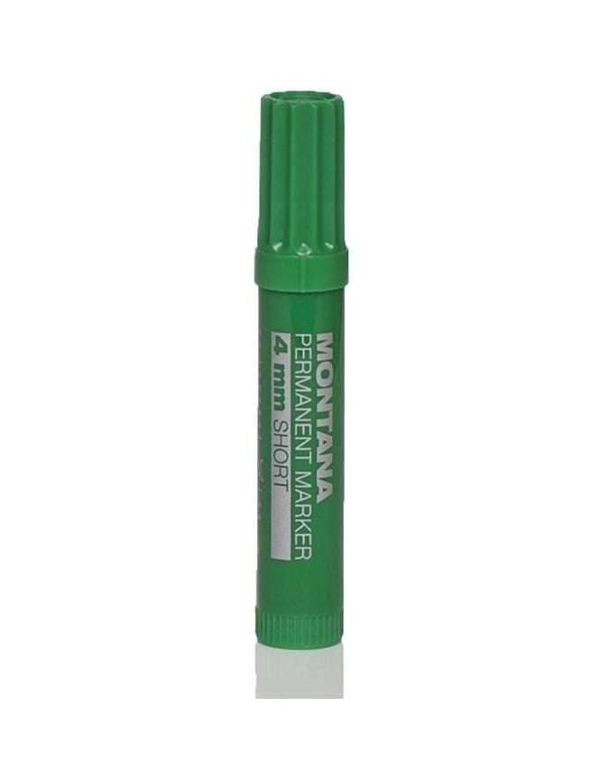 Montana Black 4mm Short Pen - Green