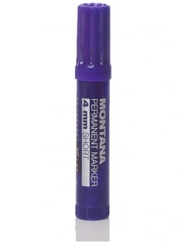 Montana Black 4mm Short Pen - Violet