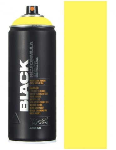Montana Black 50% True Yellow Spray Paint - 400ml