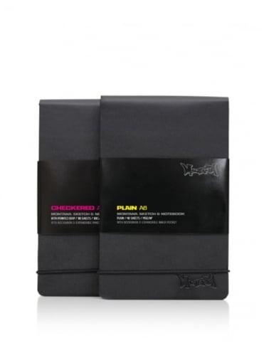 Montana Black A6 Notebook - Plain