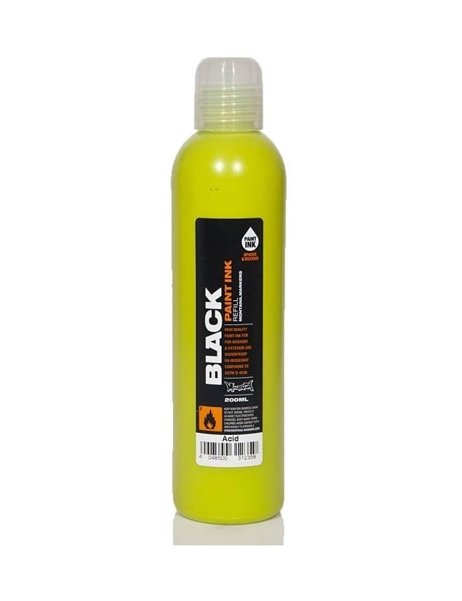 Montana Black Acid - 200ml Paint Refill
