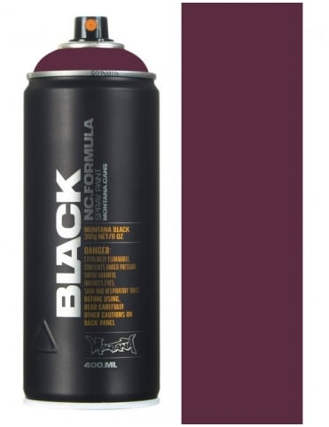 Montana Black Amethyst Spray Paint - 400ml