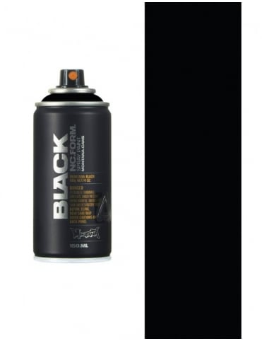 Montana Black Black Spray Paint - 150ml