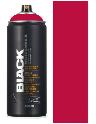 Montana Black Bloody Mary Spray Paint - 400ml