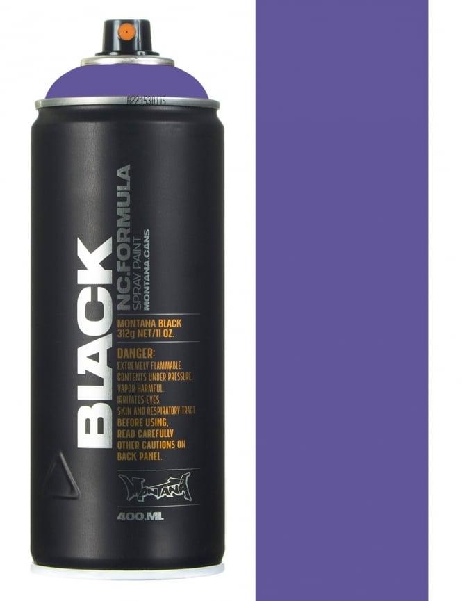 Montana Black Blue Velvet Spray Paint - 400ml
