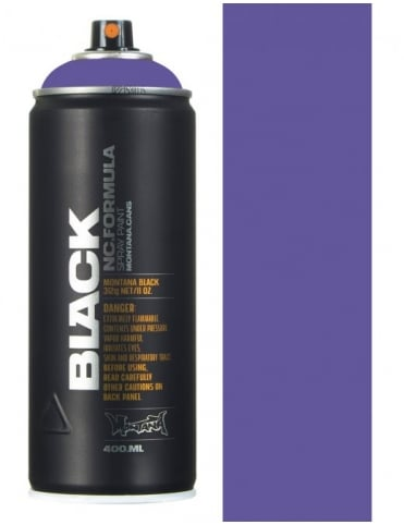 Montana Black Blue Velvet Spray Paint - 400ml