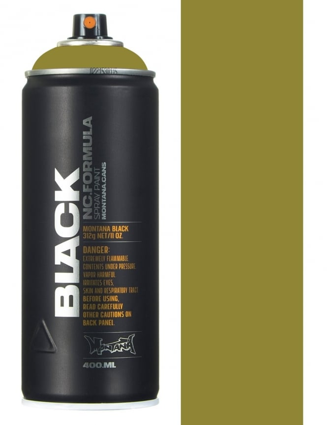 Montana Black Boa Spray Paint - 400ml