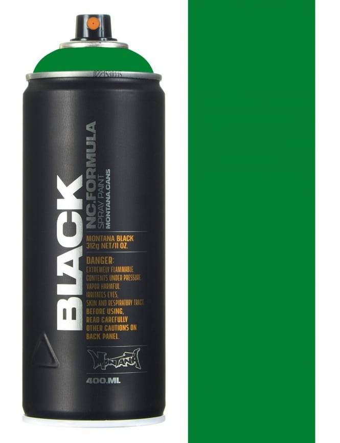 Montana Black Boston Spray Paint - 400ml