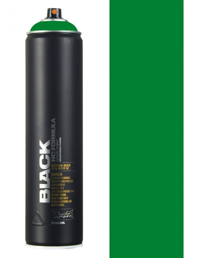 Montana Black Boston Spray Paint - 600ml