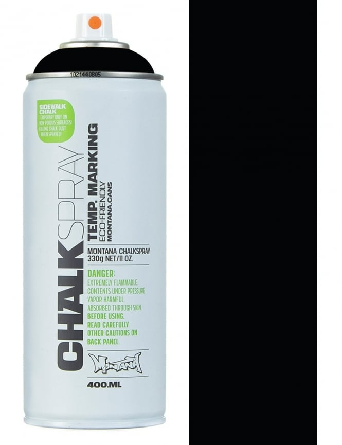 Montana Black Chalk Spray - Black