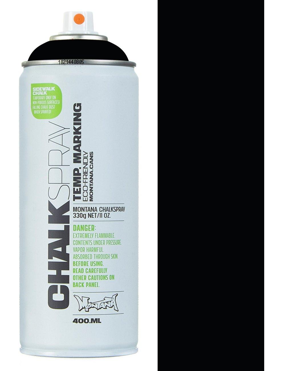 Montana black chalk spray black montana black from fat buddha store uk Spray paint supplies