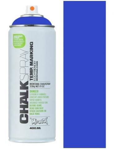 Montana Black Chalk Spray - Blue