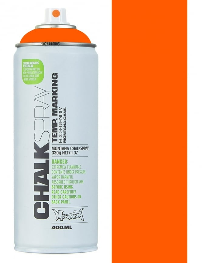 Montana Black Chalk Spray - Orange