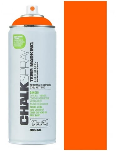 Montana Black Chalk Spray - Orange