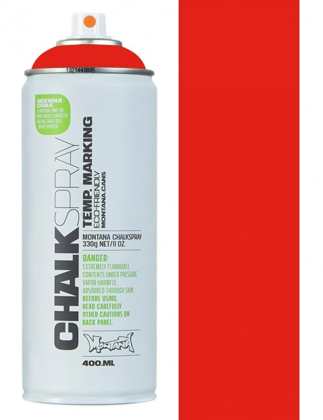 Montana Black Chalk Spray - Red