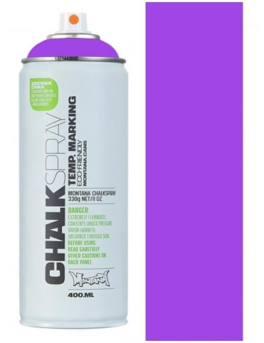 Montana Black Chalk Spray - Violet