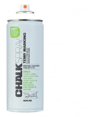 Montana Black Chalk Spray - White