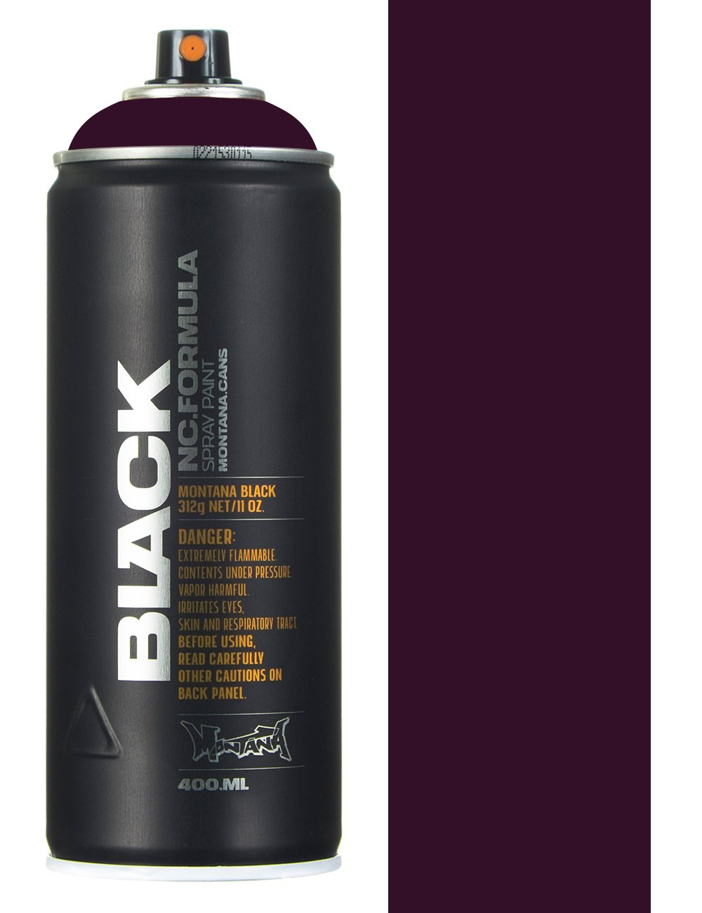 Montana Black Cherry Spray Paint 400ml Montana Black From Fat Buddha Store Uk