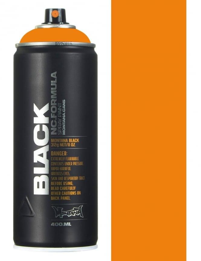 Montana Black Clockwork Orange Spray Paint - 400ml