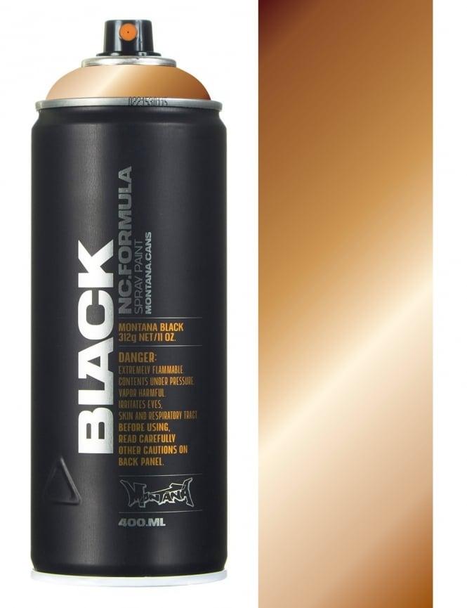 Montana Black Copper Chrome Spray Paint - 400ml