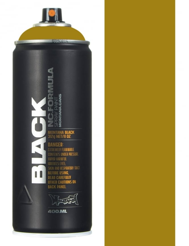 Montana Black Delhi Spray Paint - 400ml