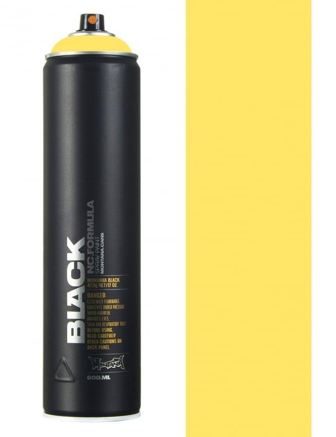 Montana Black Easter Yellow Spray Paint - 600ml