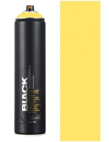 Montana Black Easter Yellow Spray Paint - 600ml