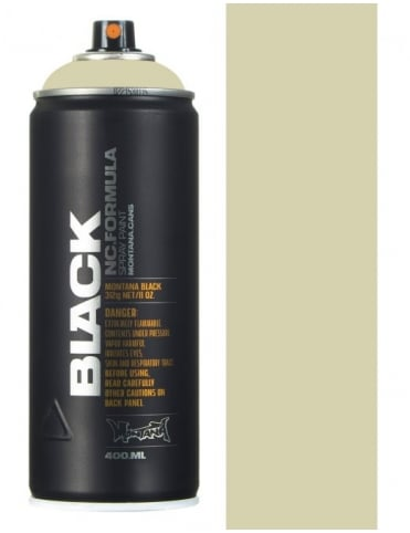 Montana Black Face Spray Paint - 400ml
