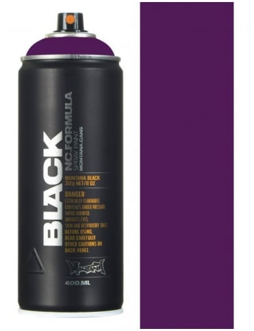 Montana Black Galaxy Spray Paint - 400ml