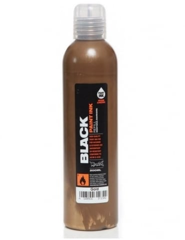 Montana Black Gold - 200ml Paint Refill