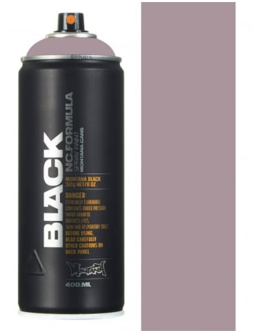 Montana Black Gut Spray Paint - 400ml