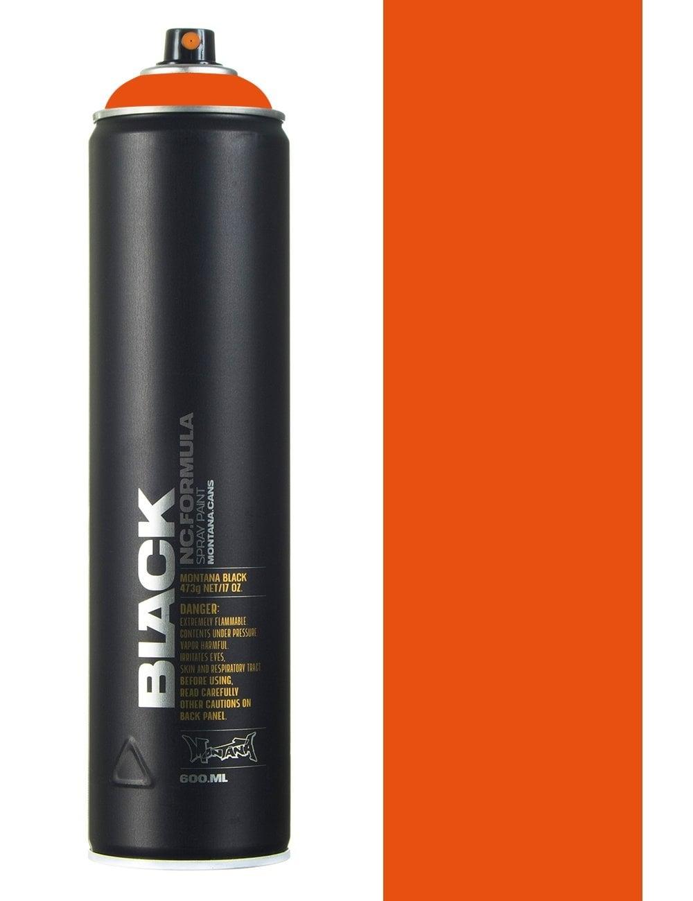 Montana Black Halloween Spray Paint 600ml Spray Paint