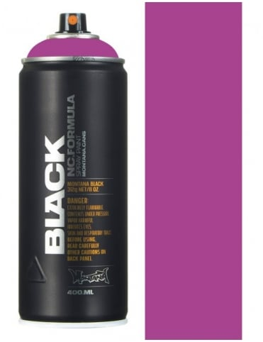 Montana Black Illusion Spray Paint - 400ml