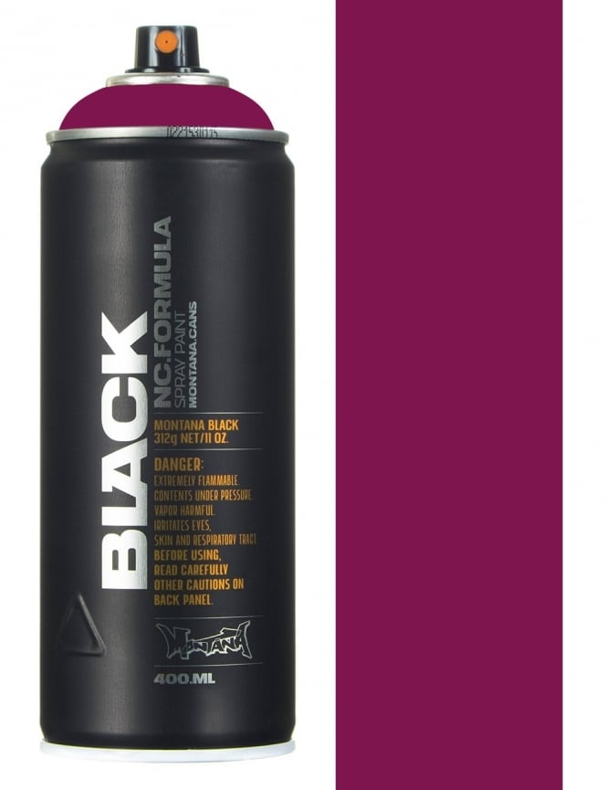 Montana Black Imperator Spray Paint - 400ml