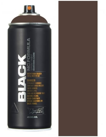 Montana Black Industrillor Spray Paint - 400ml