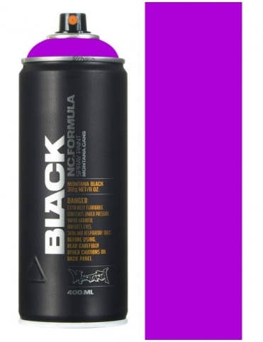 Montana Black Infra Violet Spray Paint - 400ml