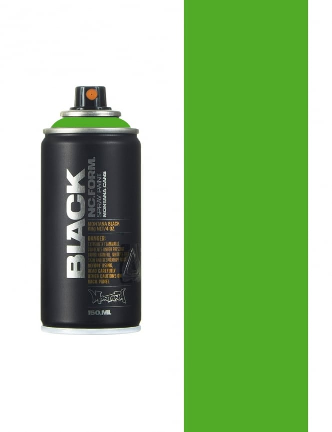 Montana Black Irish Green Spray Paint - 150ml