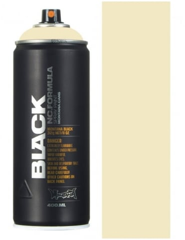 Montana Black Ivory Spray Paint - 400ml