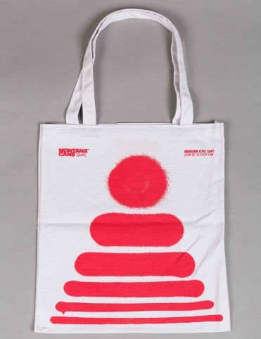 Level Caps by FORM76 Tote Bag - White