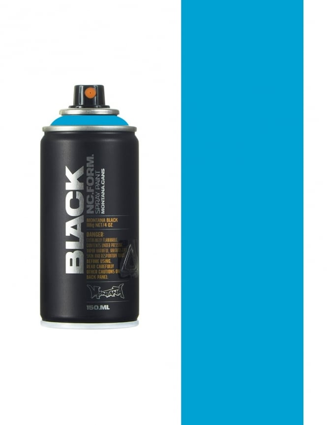 Montana Black Light Blue Spray Paint - 150ml