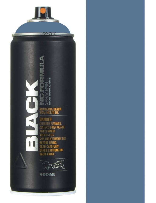 Montana Black Marlin Spray Paint - 400ml
