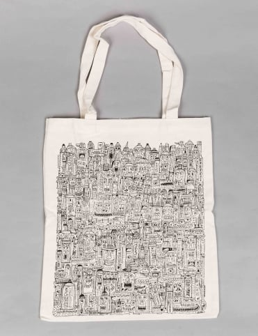 Montana Tools by JAN PAUL Tote Bag - Natural