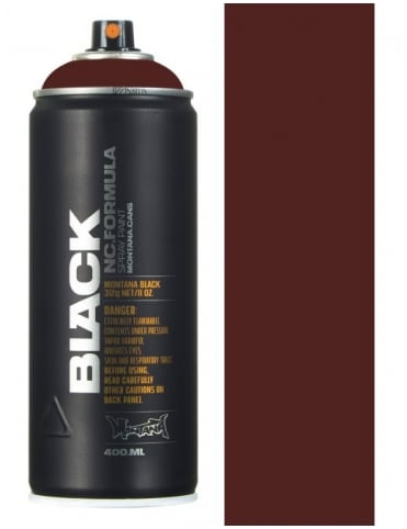 Montana Black Mud Spray Paint - 400ml