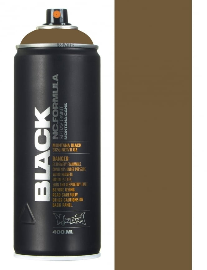 Montana Black Pan Spray Paint- 400ml