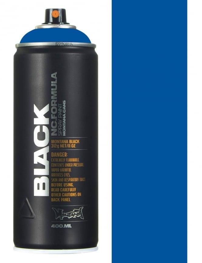 Montana Black Power Blue Spray Paint - 400ml