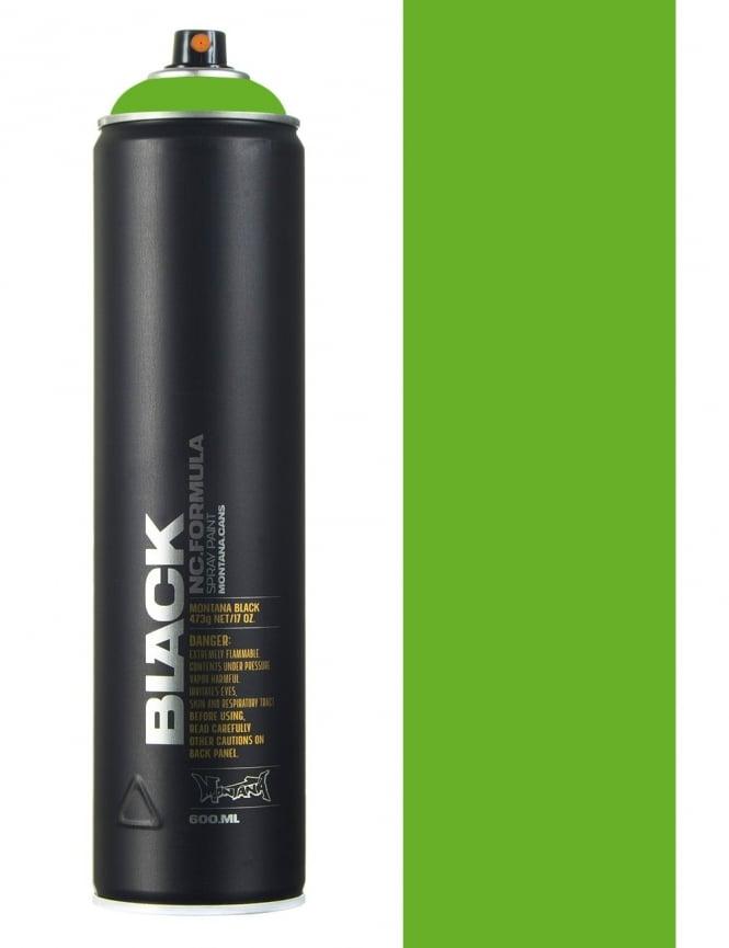 Montana Black Power Green Spray Paint - 600ml