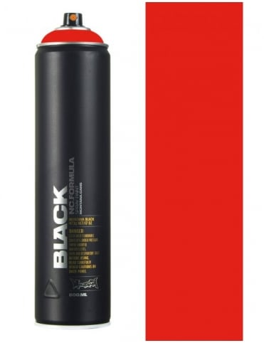 Montana Black Power Red Spray Paint - 600ml